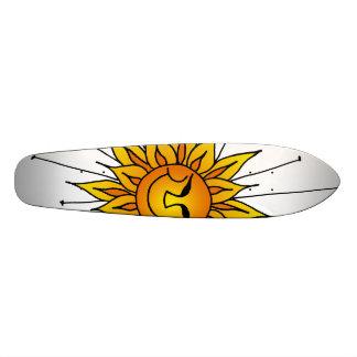 Sonnige Benommenheit Individuelle Skateboarddecks