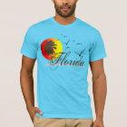 Sonnige Florida-Sonnenuntergänge T-Shirt