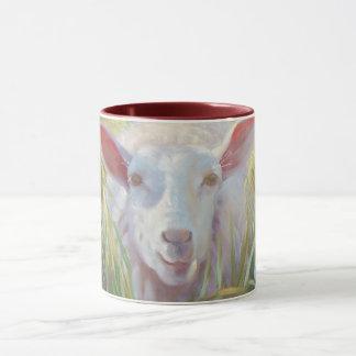Sonnige Schafe Tasse