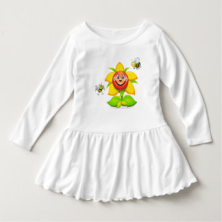 Sonnige Sonnenblume Kleid