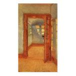 Sonniger Impressionist Innenanna Ancher der Visitenkartenvorlagen