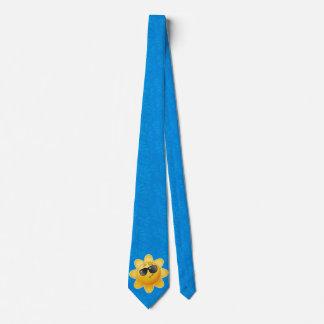 Sonniger KrawattenVatertag Bedruckte Krawatten