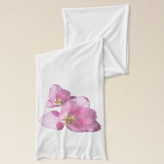 Sonniger rosa Tulpe-Schal Schal