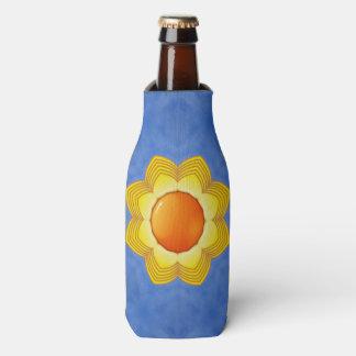 Sonniger Tagesbunte Kaleidoskop-Flasche cooler Flaschenkühler