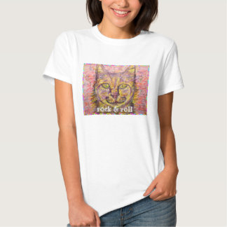 sonniger Tageskatzen-Rock u. -rolle Tshirt