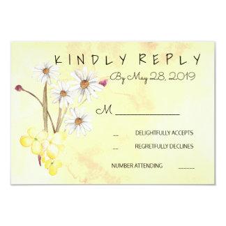 Sonniges Blumen-Bündel UAWG 8,9 X 12,7 Cm Einladungskarte
