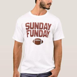 Sonntag Funday - Fußball-Ausgabe T-Shirt