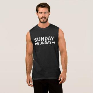 Sonntag Gunday Ärmelloses Shirt