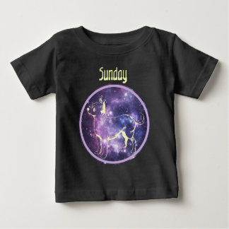 Sonntag niedliches Chihuahuahundewelpen-Shirt Baby T-shirt