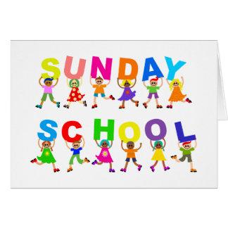Sonntagsschule Karte