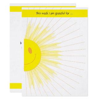 Sonntagsschulen-Kirchen-Gruppen-Dankbarkeits-Spiel 16,5 X 22,2 Cm Einladungskarte