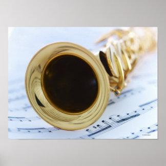 Sopran-Saxophon Poster