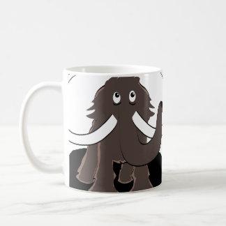 Sorge-Mammut Kaffeetasse