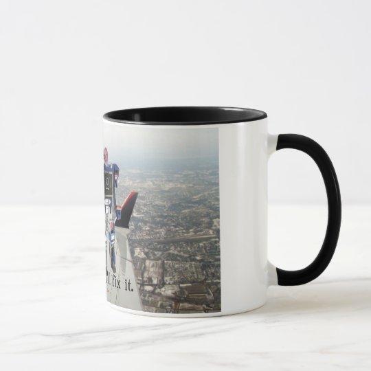 Sorgen Sie sich nicht mich regelt es Tasse