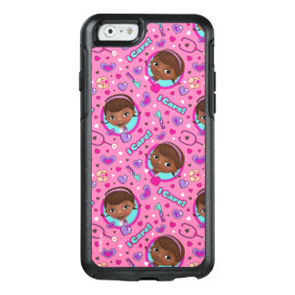 Sorgfalt-Rosa-Muster Doc. McStuffins | I OtterBox iPhone 6/6s Hülle