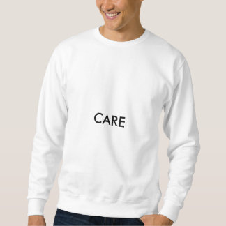 Sorgfalt-Sweatshirt Sweatshirt