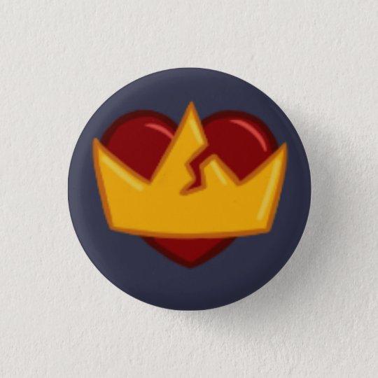 sortaHEART Runder Button 2,5 Cm
