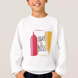Soße ist Chef Sweatshirt