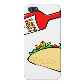 Soßebratenfett auf Taco iPhone 5 Schutzhülle