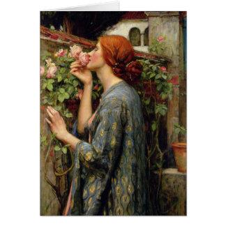 Soul der Rose durch John William Waterhouse Karte