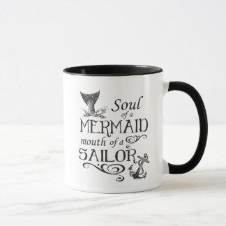 Soul einer Meerjungfrau, Mund eines Seemanns Tasse
