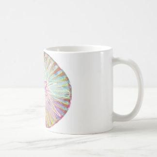 Soul-Power: Sonnenenergie-künstlerischer Entwurf Kaffeetasse