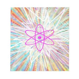 Soul-Power: Sonnenenergie-künstlerischer Entwurf Notizblock