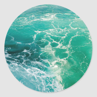 Soule des Meeres 2 Runder Aufkleber