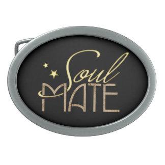 Soulmate Ovale Gürtelschnallen