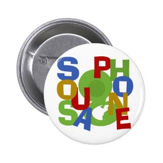 Sousaphone-Jagd Runder Button 5,7 Cm