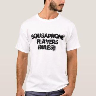 SOUSAPHONE-SPIELER-REGELN!! T-Shirt