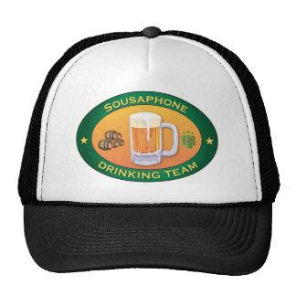 Sousaphone-trinkendes Team Baseballcap