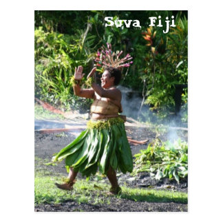 South- Pacificfeuer-Weg-Tanz Postkarte