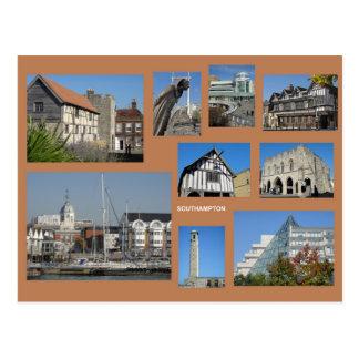 Southampton Multibild Postkarte