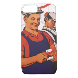 Sowjetische Arbeitskraft iPhone 8/7 Hülle
