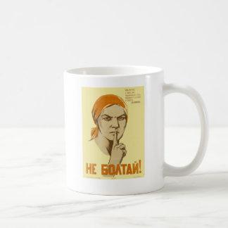 Sowjetische Propaganda Tasse