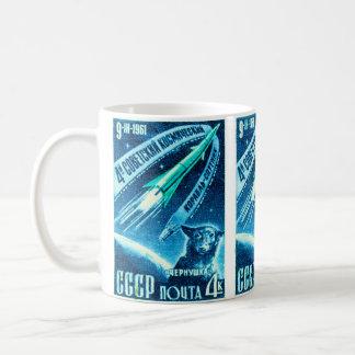 Sowjetischer Raum-Hund Tasse