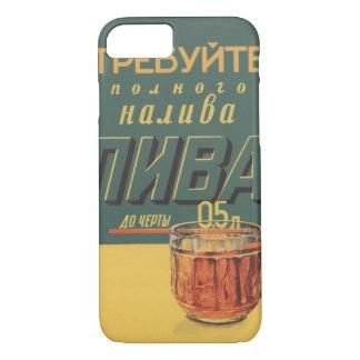 Sowjetisches Bier iPhone 8/7 Hülle