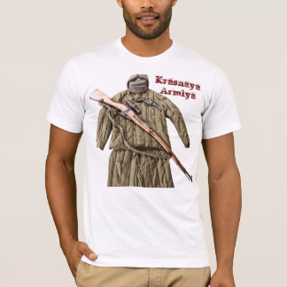 Sowjetisches Russe Mosin Nagant WW2 rote Armee T-Shirt