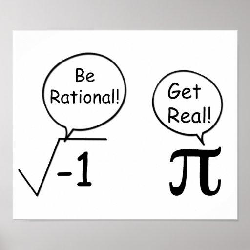 Soyez rationnel, obtenez vrai ! posters