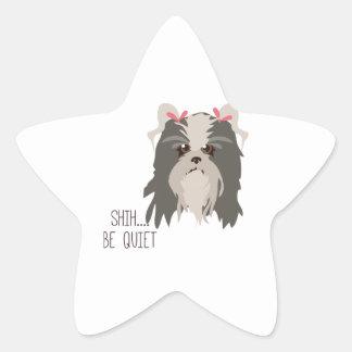 Soyez tranquille sticker étoile