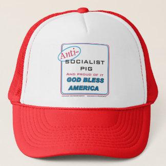 Sozialistisches Antischwein Truckerkappe