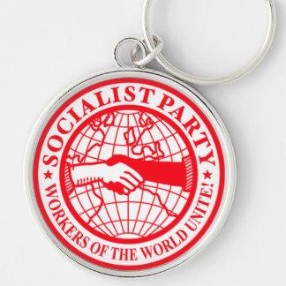 Sozialistisches Party USA-Logo Schlüsselbänder