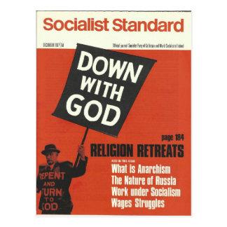 Sozialistisches Standardim Dezember 1967 Postkarte