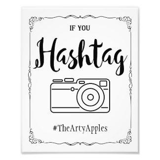 Sozialmedien, die Zeichen hashtag wedding sind Kunstfoto