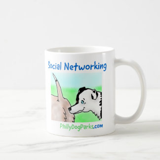 Sozialvernetzung Kaffeetasse