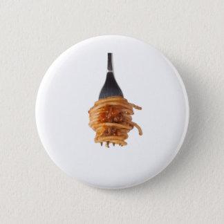 Spaghettis Bewohner von Bolognese Runder Button 5,7 Cm