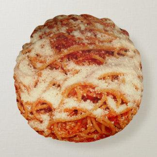 Spaghettis mit rundes kissen