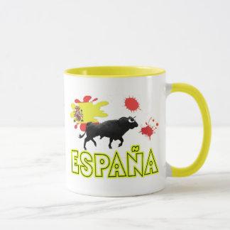 SPAIN&COMPANY zerteilt Tasse