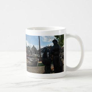 Spakenburg Hafen-panoramische Kaffee-Tasse Tasse